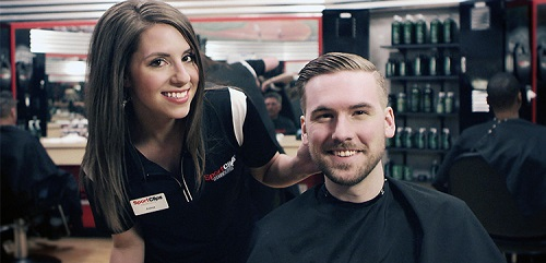 Sport Clips Haircuts of West St. Paul​ stylist hair cut